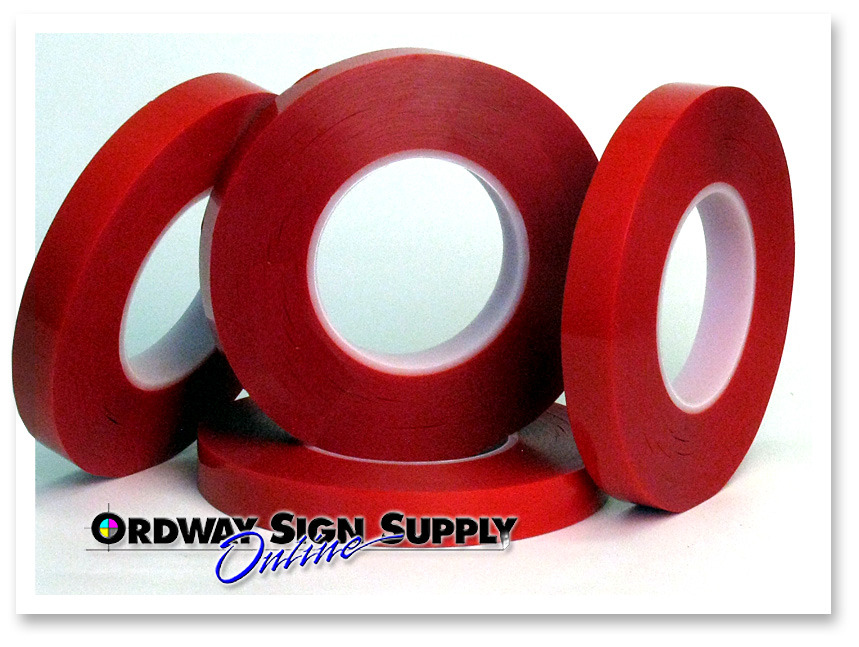 """ORAMOUNT 1819TM  Double Coated 3//4/"""" x 108 ft Sided Foam Tape"""